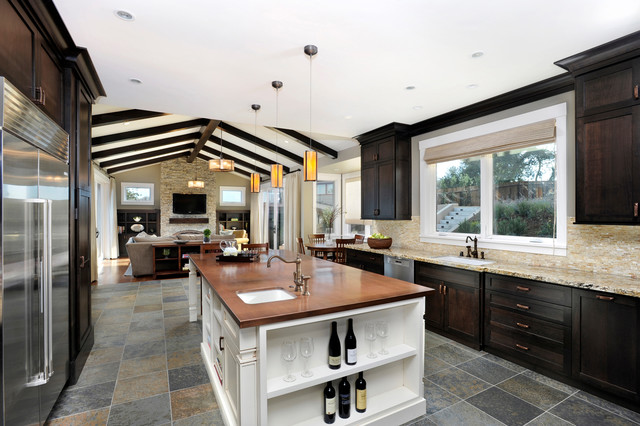 Hillside Estate contemporary-kitchen