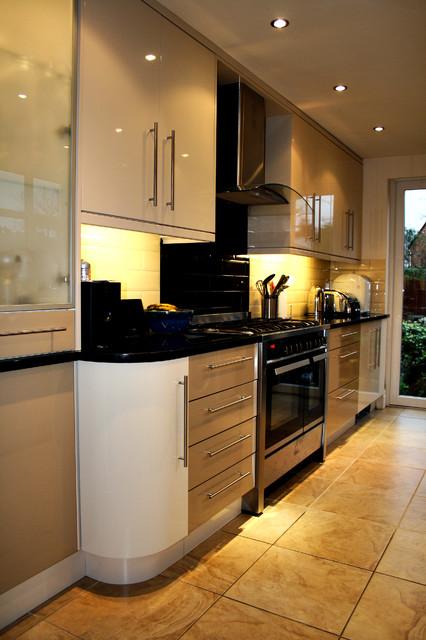 Hillside contemporary-kitchen