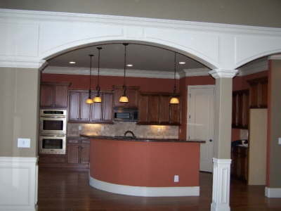 Hillside Homes Inc traditional-kitchen