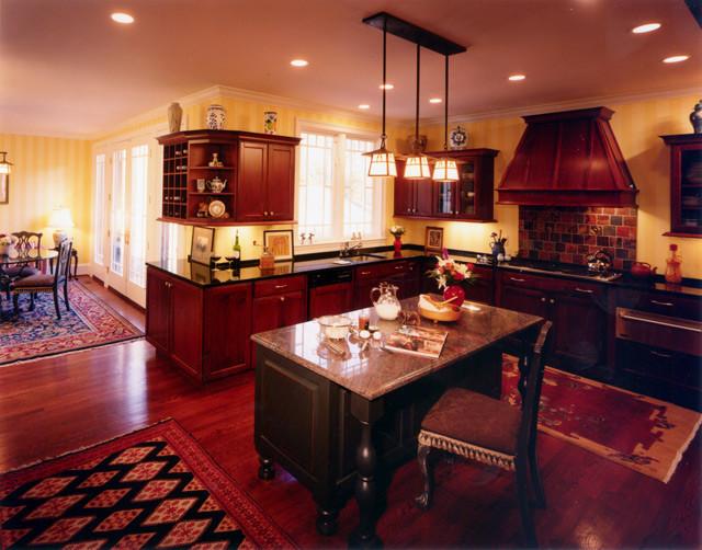 Hillside House traditional-kitchen
