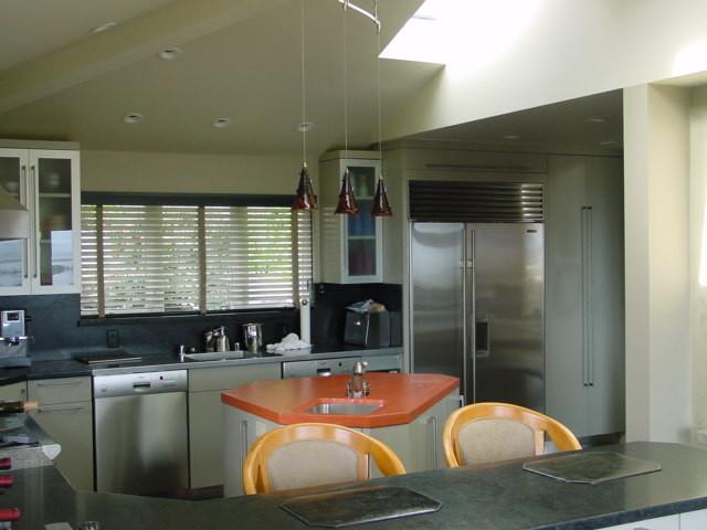 Hillside House eclectic-kitchen