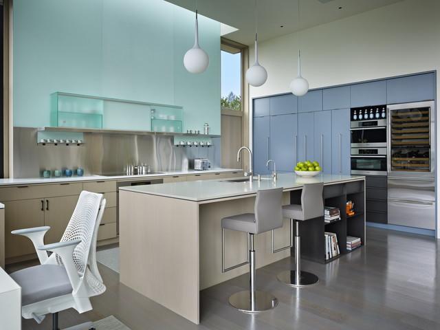 Hillside Modern modern-kitchen