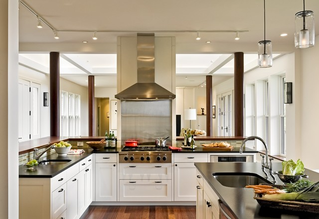 Hillside Residence Hanover NH contemporary-kitchen