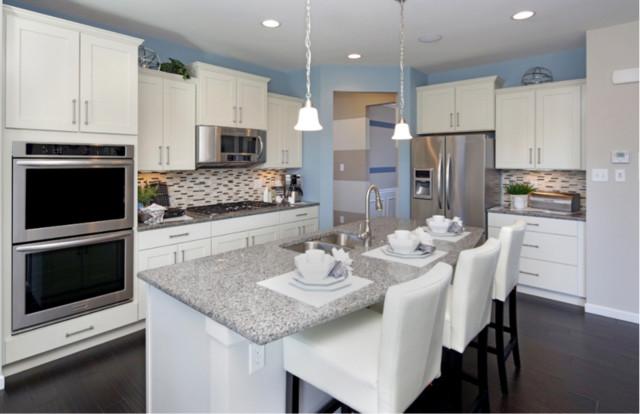 Pulte Homes White Kitchen