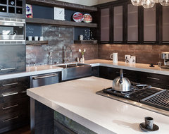 Hilltop House | Grand Vista Subdivision modern kitchen