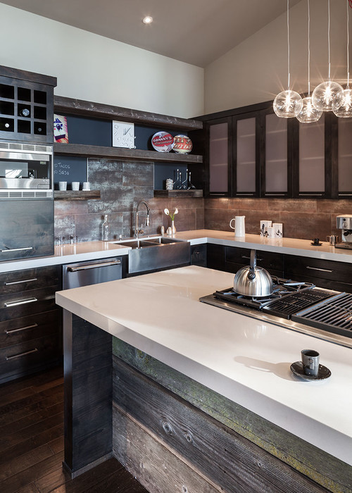 Contemporary Kitchen By Eugene General Contractors Jordan Iverson Signature  Homes