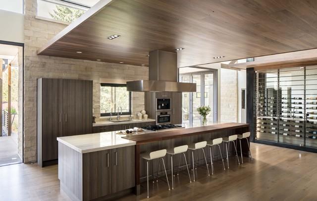 Hilltop Residence Modern Kitchen By Nest
