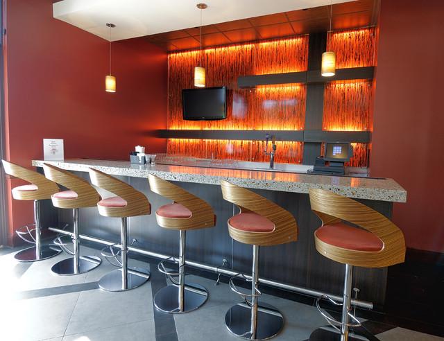 Hilton Garden Inn Modern Kitchen Atlanta By Cr Home Design K B Construction Resources