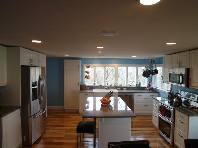 Hingham Kitchen Transformation traditional-kitchen