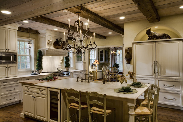 Hinsdale Farmhouse Kitchen Remodel Traditional
