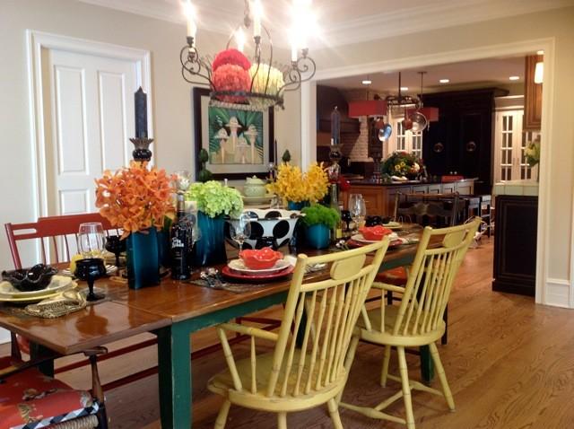 Hinsdale Kitchen Walk 2012 eclectic-kitchen