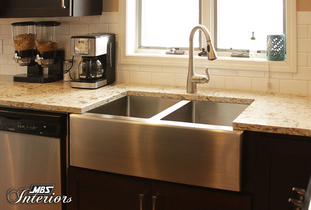 Hip and Fun Michigan Kitchen eclectic