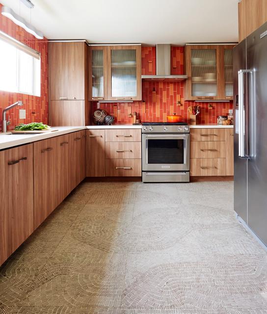 Hippie Modern - Contemporary - Kitchen - Los Angeles - by ...