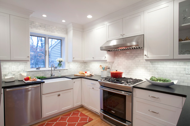 Hipster Kitchen Closer Look At Cabinetry Transitional
