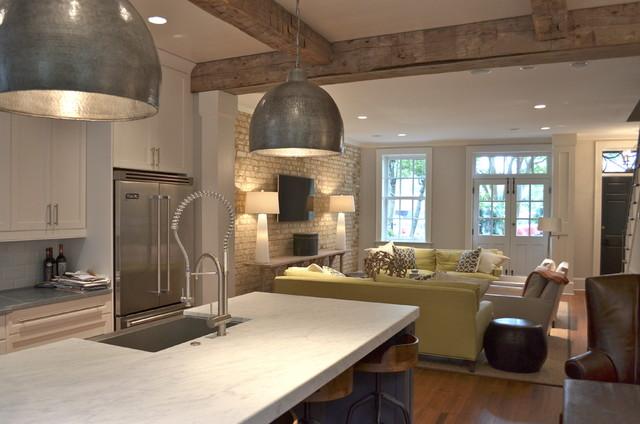 Historic charleston interior renovation contemporary for Kitchen remodeling charleston sc