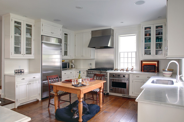 Historic Clapboard Hill Traditional Kitchen Bridgeport By Joseph Bergin Architect Pc