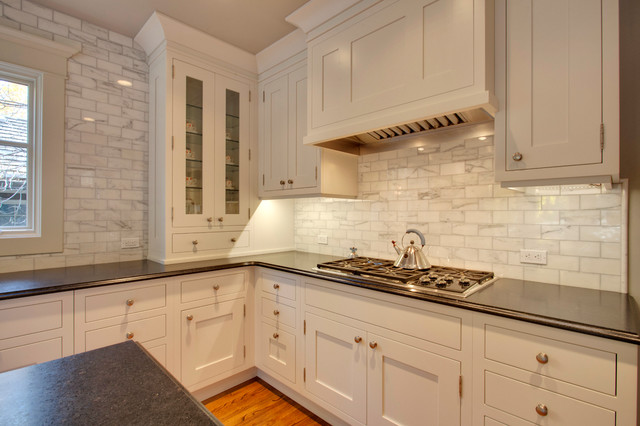 Historic colbourne traditional kitchen calgary by empire kitchen bath - Empire kitchen and bath ...