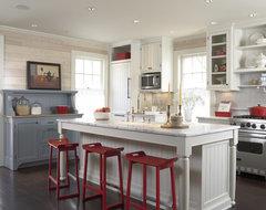 Historic cottage renovation kitchen traditional-kitchen