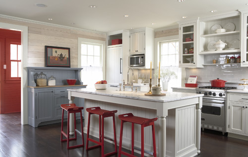 Historic cottage renovation kitchen