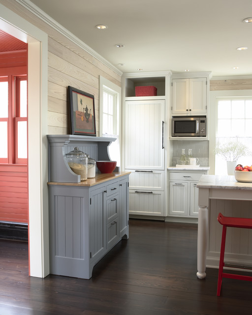 Historic Cottage Renovation Kitchen Traditional