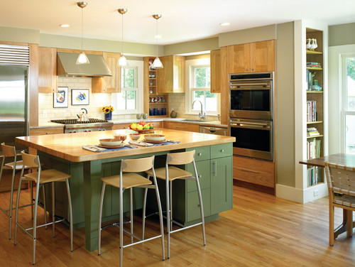 Historic Farm House Kitchen contemporary kitchen