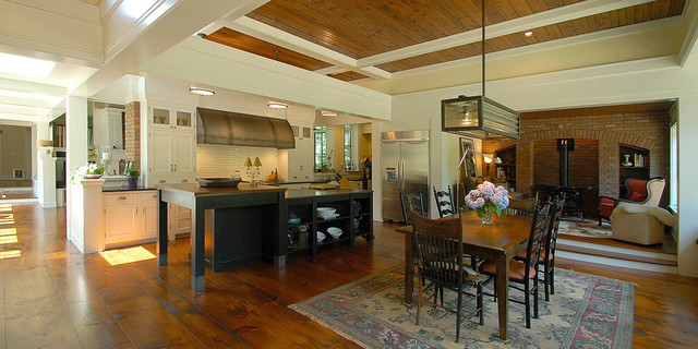 Historic Farmhouse traditional kitchen