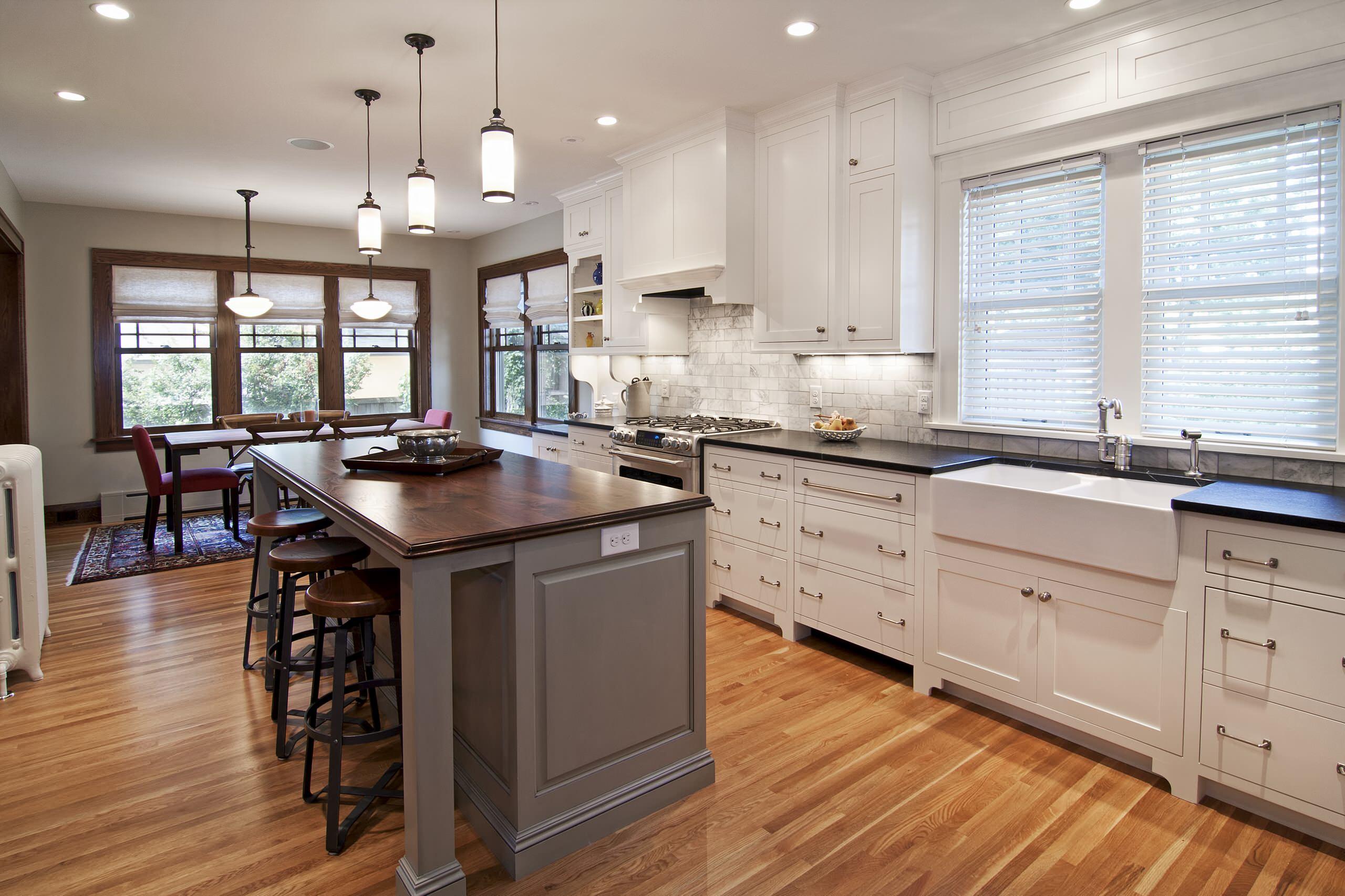 Historic Foursquare Kitchen