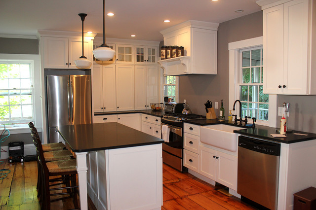 Historic Groton Home traditional-kitchen