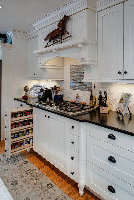 Historic home Downtown Northville traditional-kitchen