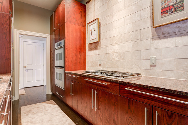 Historic Home facing City Park contemporary-kitchen