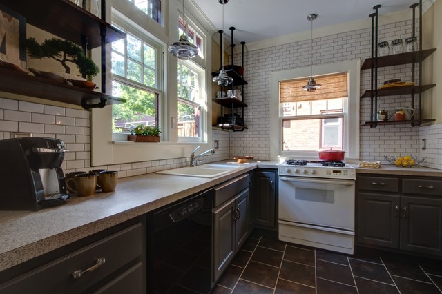 Historic Home Remodel industrial kitchen  Industrial Kitchen Grand Rapids by