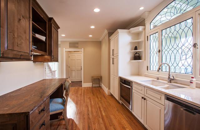 Historic Jakway House Renovation traditional-kitchen