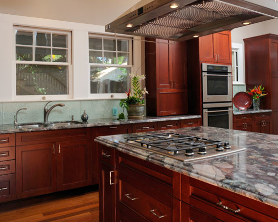 Historic Jewel Revived traditional-kitchen