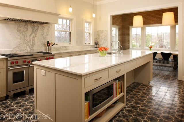Historic kitchen renovation eclectic-kitchen