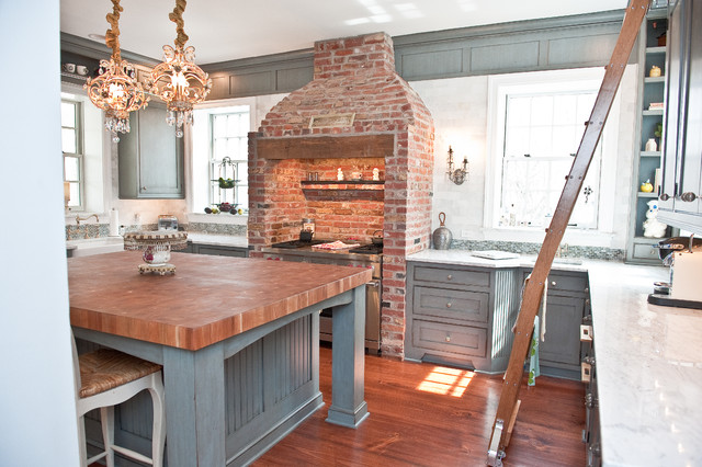 Historic Moorestown NJ Kitchen traditional-kitchen