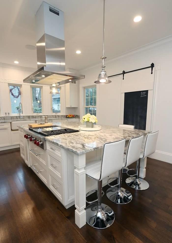 Historic Newton, MA home kitchen and bath design & remodel ...