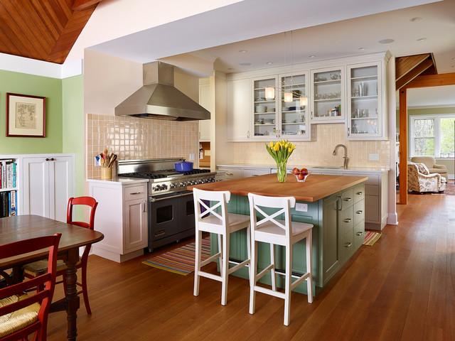Historic Pennsylvania Barn Renovation - Farmhouse - Kitchen ...