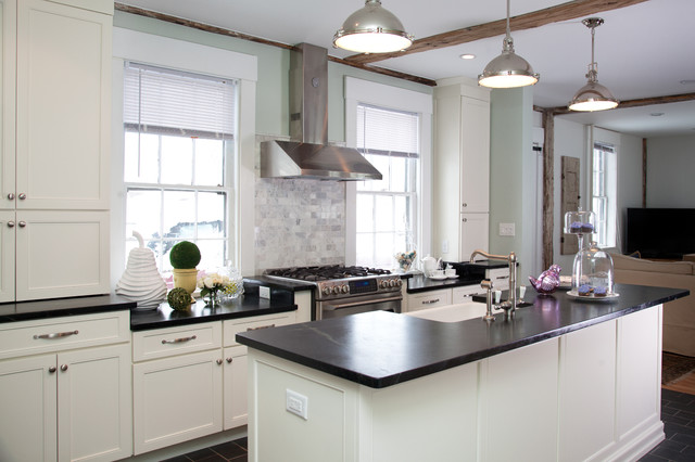 Historic Renovation Derry Nh Traditional Kitchen Other By New England Design Elements