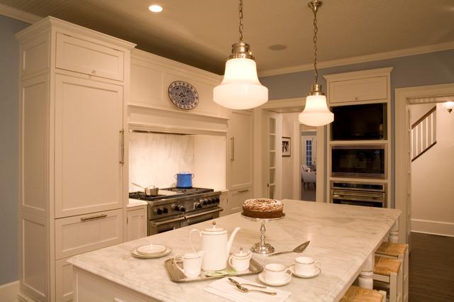 Historic Winnetka Renovation traditional-kitchen