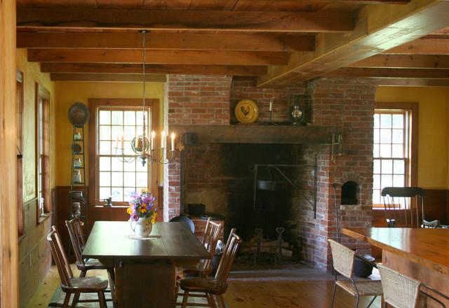 Historic Replica Colonial Farmhouse Kitchen Burlington By The Mckernon Group