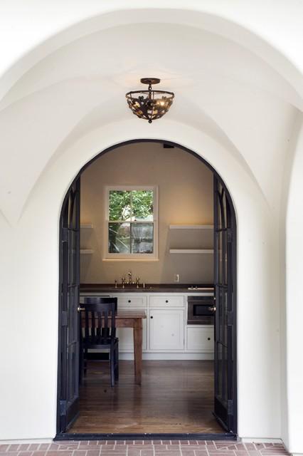 Historic Roland E. Coate eclectic-kitchen