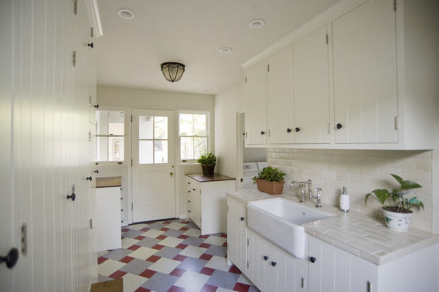 Historic Roland E. Coate eclectic-kitchen