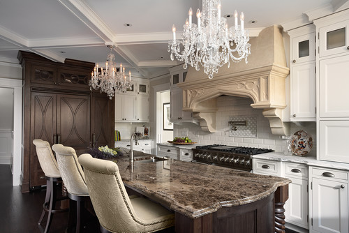 kitchens with two different colored countertops the granite gurus slab sunday emperador marble 9635