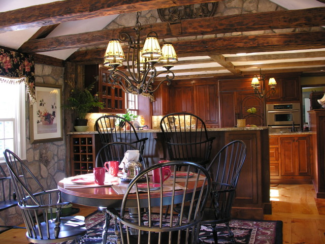 Historical Home traditional-kitchen