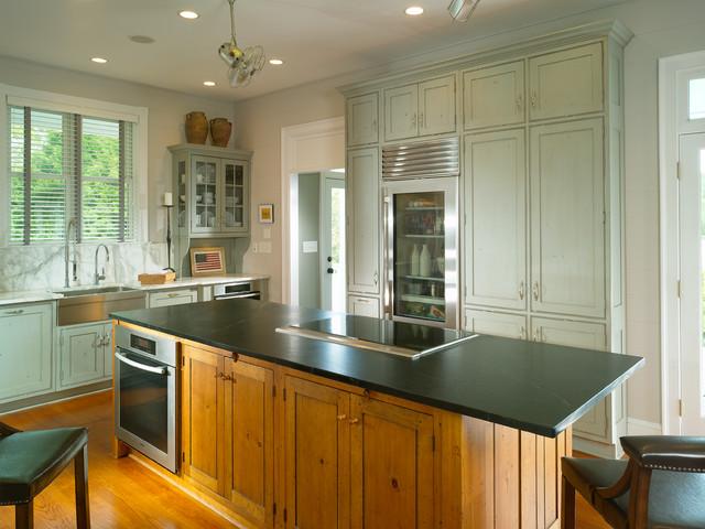 Modern traditional kitchen atlanta by rao design studio inc