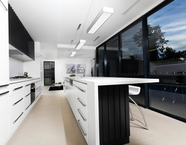 Hobart ave modern kitchen canberra queanbeyan by for Kitchen designs hobart