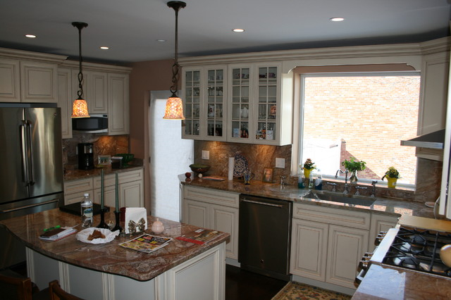 Hobart avenue bronx kitchen new york by tarallo for Kitchen designs hobart
