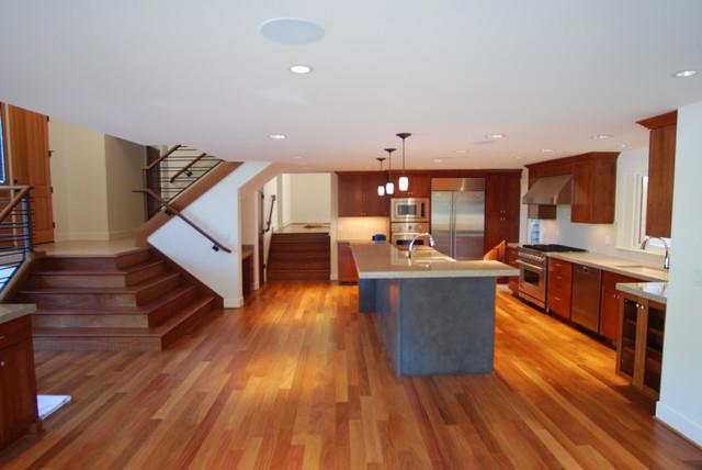 Hobbit Court remodel contemporary-kitchen