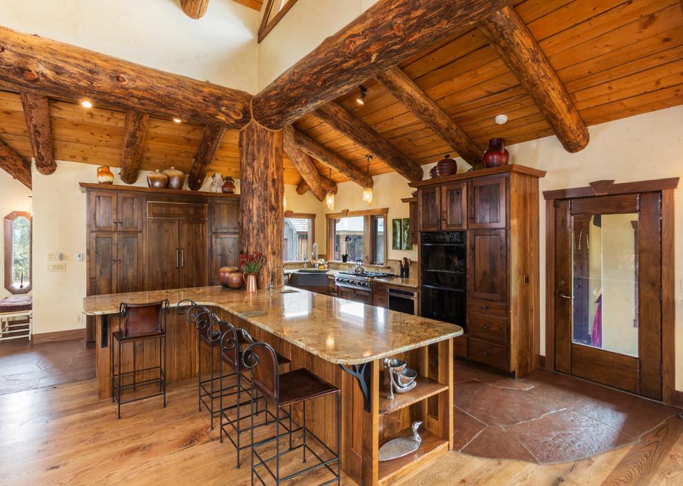 Hobbit House Rustic Kitchen Denver By Cactus Beauregard Custom Construction Inc