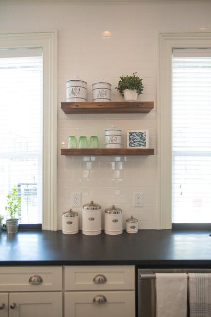 Hoboken New Jersey Kitchen - Transitional - Kitchen - newark - by CliqStudios Cabinets